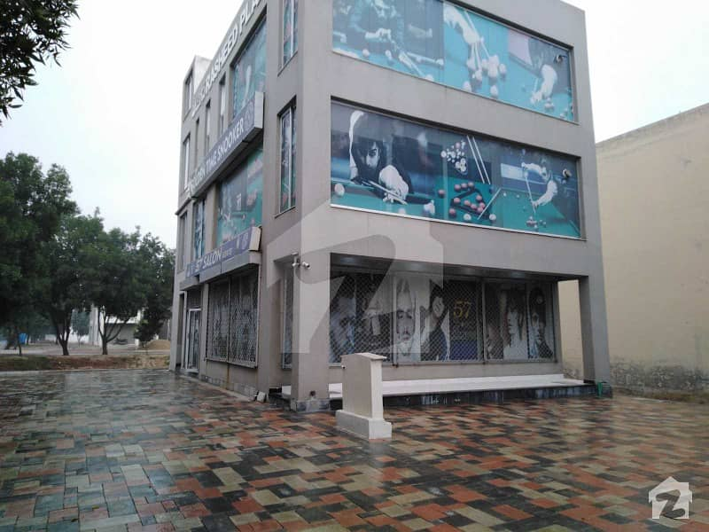 6 Marla Brand New Corner Plaza For Sale In Overseas B Block Of Bahria Town Lahore