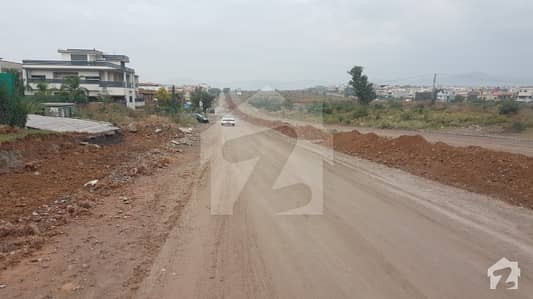 Double Road Corner Plot For Sale