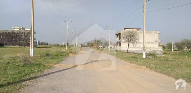8 Marla Double Road Corner Plot For Sale