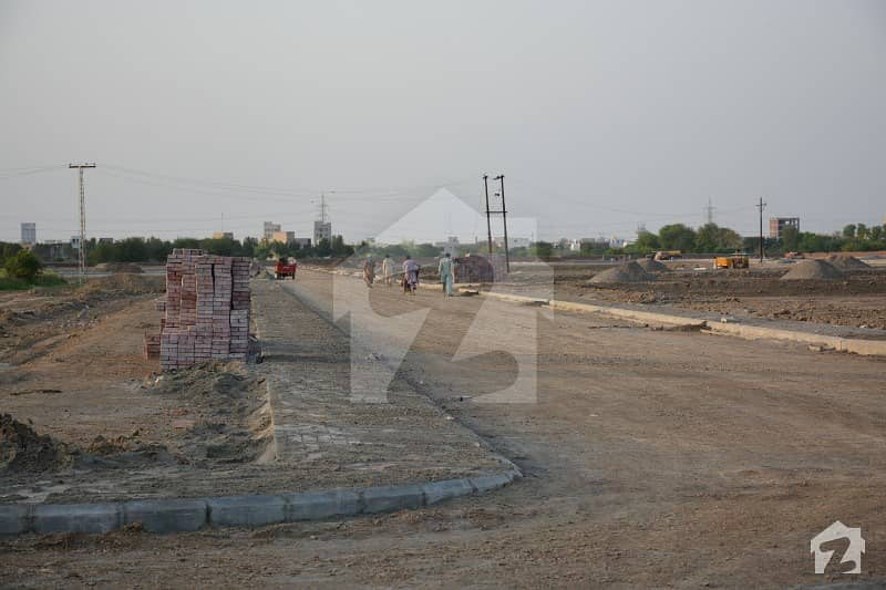 1 Kanal On Ground Plot For Sale In Bahria Town Ghazi Block