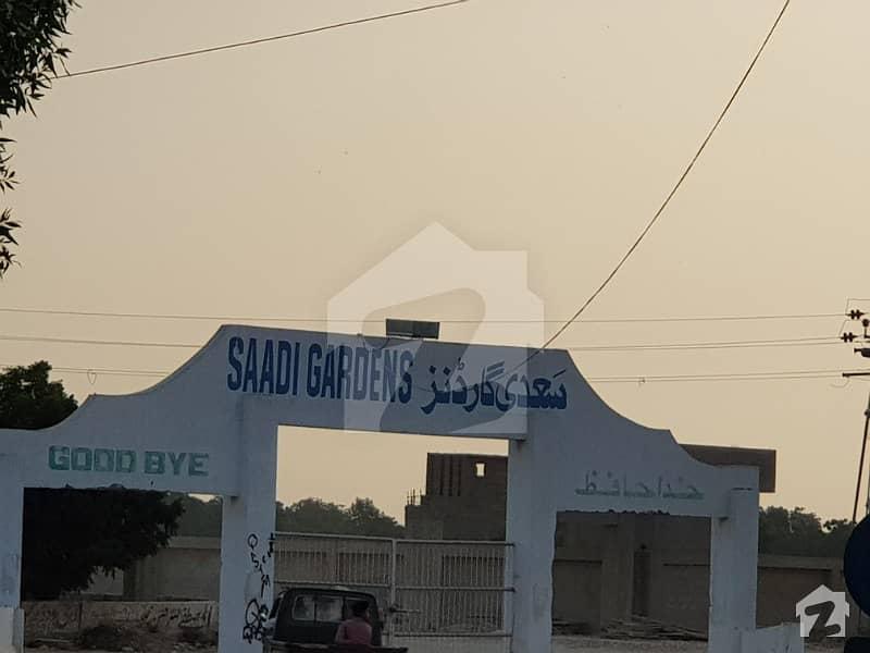 Plot For Sale In Saadi Garden Block 4