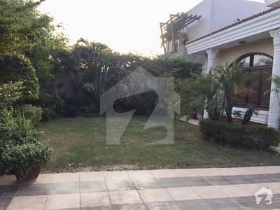 1000 Yards 4 Year Old beautiful Slightly Used Huge Bungalow With Full Basement For Rent Dha Phase 5 Khayaban E Janbaz Only Multinational Company And Foreigners