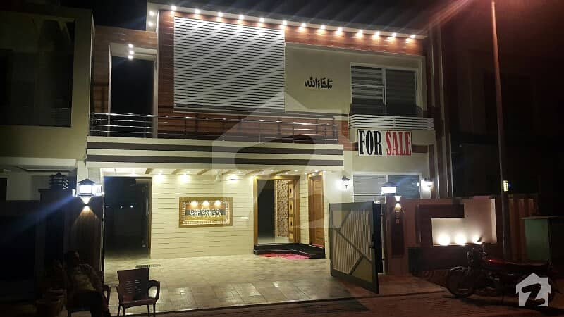 10 Marla Semi Furnished European Style Brand New Luxury Bungalow For Sale At Prime Location
