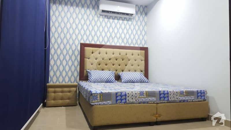 One Bed Fully Furnished Flat For Rent In Bahria Town Lahore