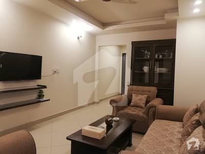Luxurious Flly Furnished Brand New 1 Bed Apartment Is Available For Short Time Stay in The Grande, Civic Center Bahria Town Phase 4, Rawalpindi