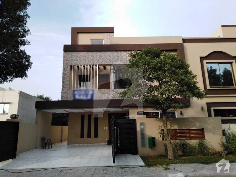 10 Marla Brand New House For Sale In Overseas B Block Of Bahria Town Lahore