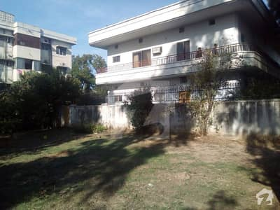 G-10/3 Extra Land Three Side Corner 500 Sq Yd House For Sale