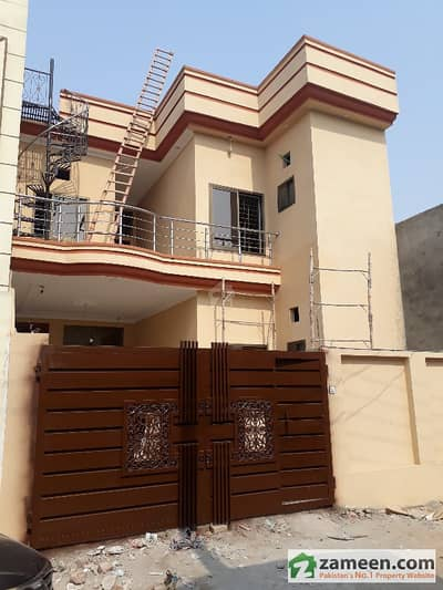6 Marla Stylish Brand New House Is Up For Sale