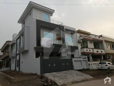 G-13 Brand New   House For Sale  Proper 2 Side Corner Very Ideal Location Seeing Is Reliving