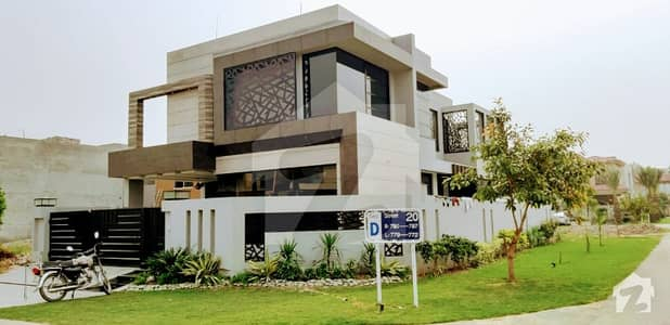 11 Marla Brand New  Corner Beautiful House For Sale In DHA