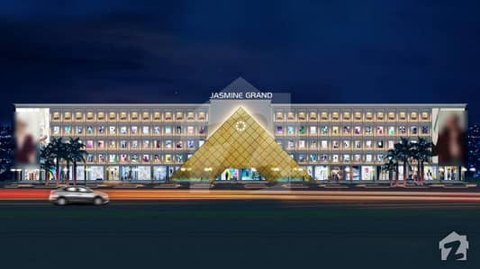 Buy Jasmine Grand Mall Shop For Sale On 3 Years Of Easy Installments Golden Opportunity In Bahria Town Lahore