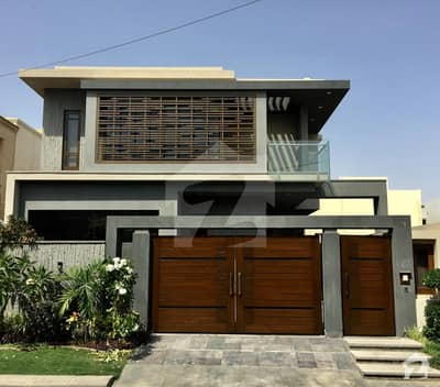 Outclass Brand New Architect Designed West Open Bungalow On Most Prime Location Of DHA
