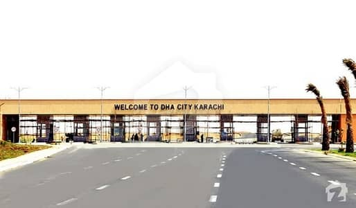 Full Paid 500 Sq Yd Plot Is Up For Sale In Sector 10-B DHA City Karachi