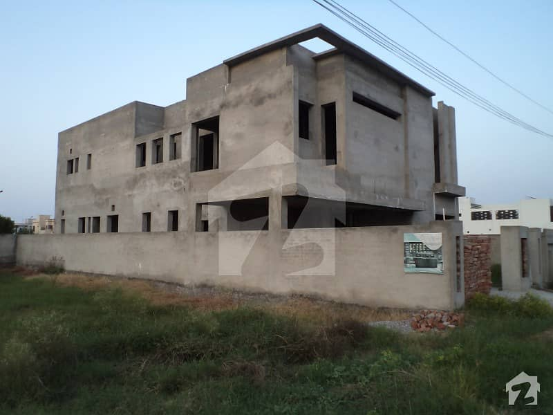 1 Kanal Grey Structure For Sale