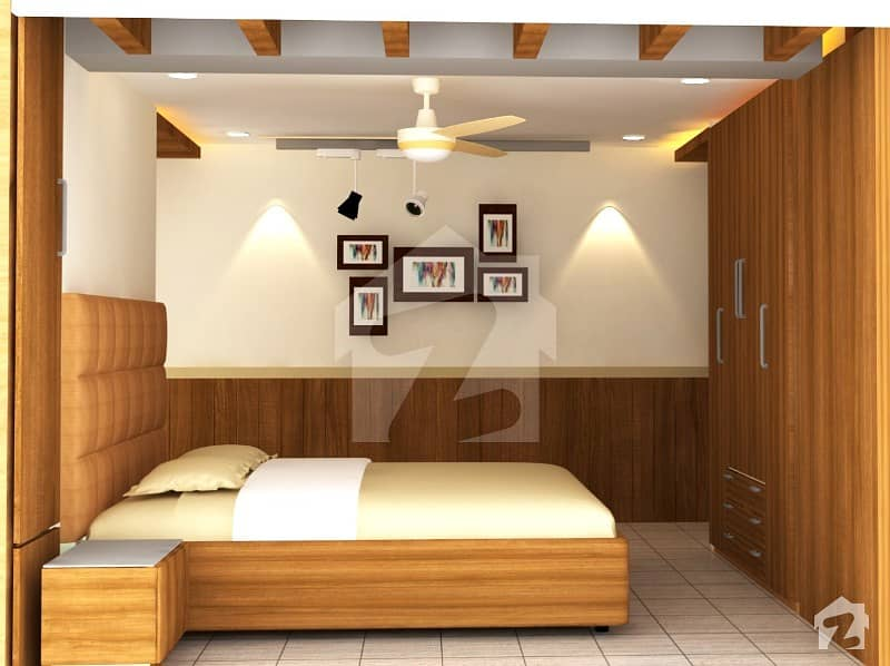 Luxury Flat Is Available For Sale On Installments