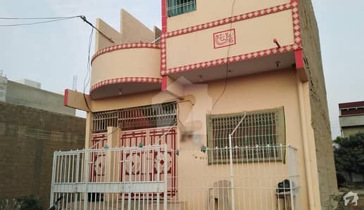West Open Ground + 1st Floor House Is Available For Sale