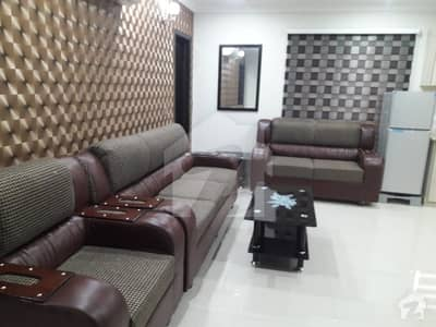 1 Bed room furnished flat for rent in bahria town lahore