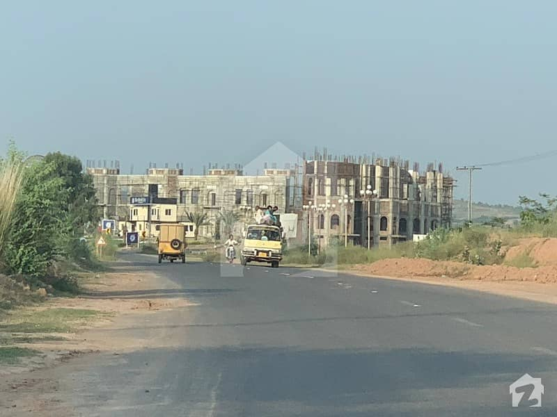 5 Marla Residential Plot Is Available For Sale On Installment In Blue World City Rawalpindi