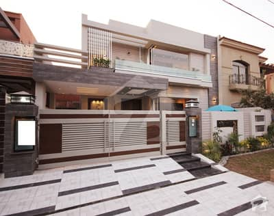 Leads Offer  10 Marla Brand New Mazhar Munir Design Palace With Basement Home Theater Out Class Location