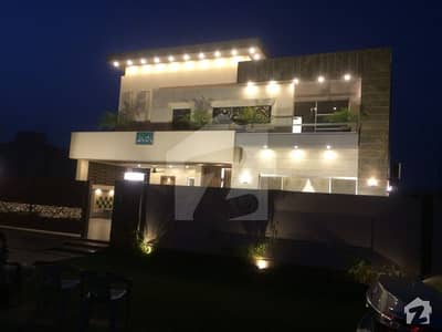 1 Kanal Brand New Modern Dream Bungalow For Sale Near To H Park