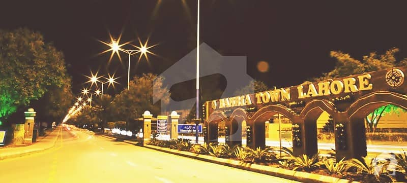 Excellent Location 10 Marla Developed Plot For Sale In Bahria Town Ghazi Block