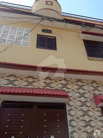 Well Build Double Storey House For Sale With Tile Marble