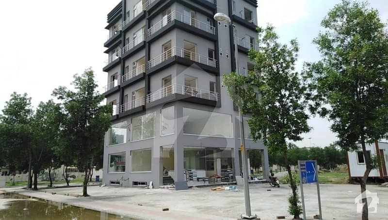 Commercial Shop Facing Eiffel Tower Available For Sale In Sq 14 Eiffel Height Bahria Town Lahore