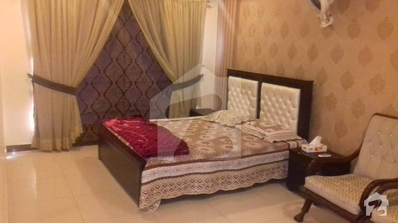 1 Bed Room Fully Furnished Apartment On Daily Basis Rent 5 Thousand In Bahria Town Civic Centre