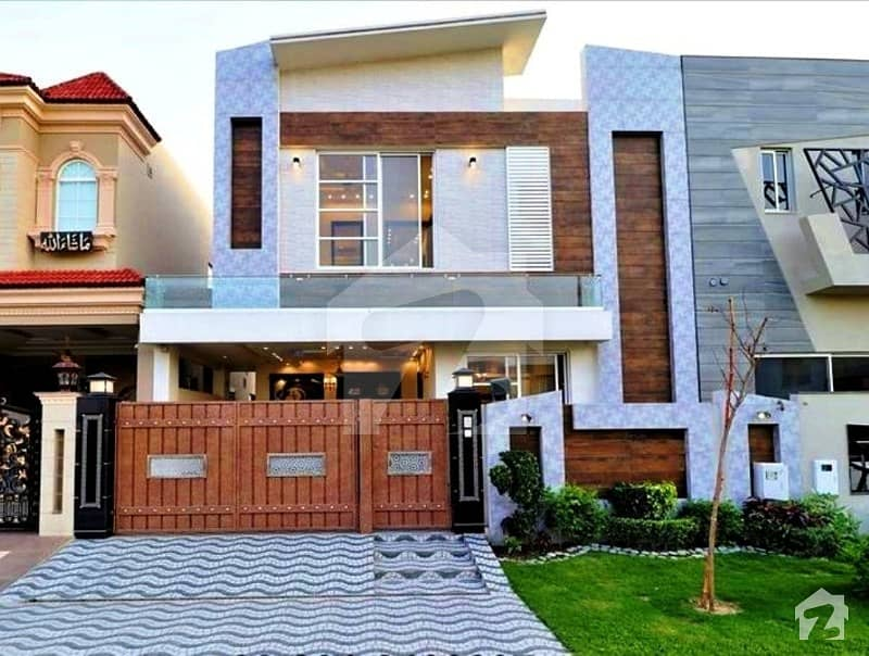 Syed Brothers 7 Marla Brand New Designer Bungalow in DHA Phase 6 Block J