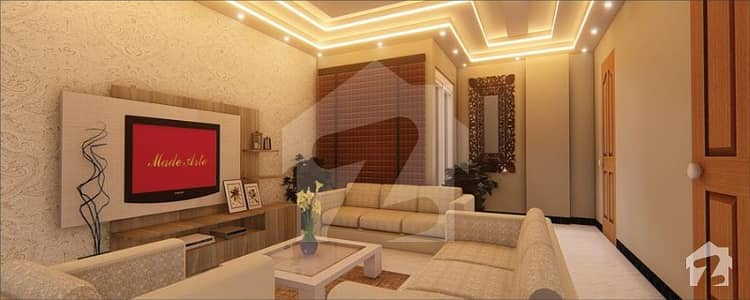 1 Bed Furnished Apartment For Sale Brand New Spanish Style Located Next To Jasmine Mall Bahria Town Lahore