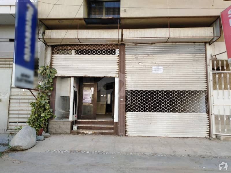 970 Square Feet Showroom With 1650 Basement Available For Sale In DHA Phase 6