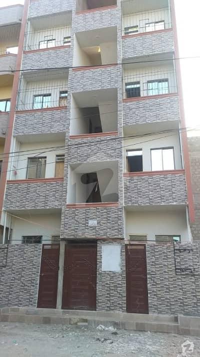 کورنگی - سیکٹر 31-جی کورنگی کراچی میں 2 کمروں کا 2 مرلہ فلیٹ 18 لاکھ میں برائے فروخت۔