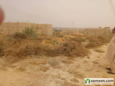 80 Square Yard Corner And Park Facing Plot For Sale
