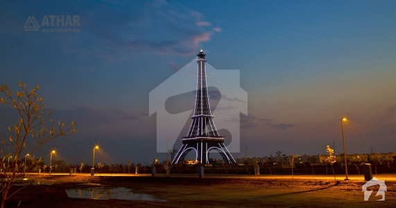 5 Marla Facing Eiffel Tower Two Side Open Commercial For Sale In Quaid Block Bahria Town Lahore