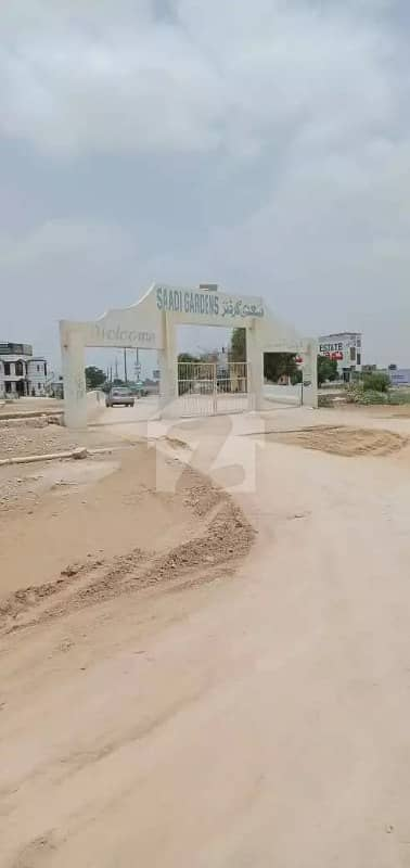Plot For Sale In Saadi Garden 400 Sq Yard