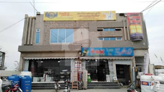 1 Kanal Brand New Commercial Plaza With Basement For Sale In F Block Of Jubilee Town Lahore