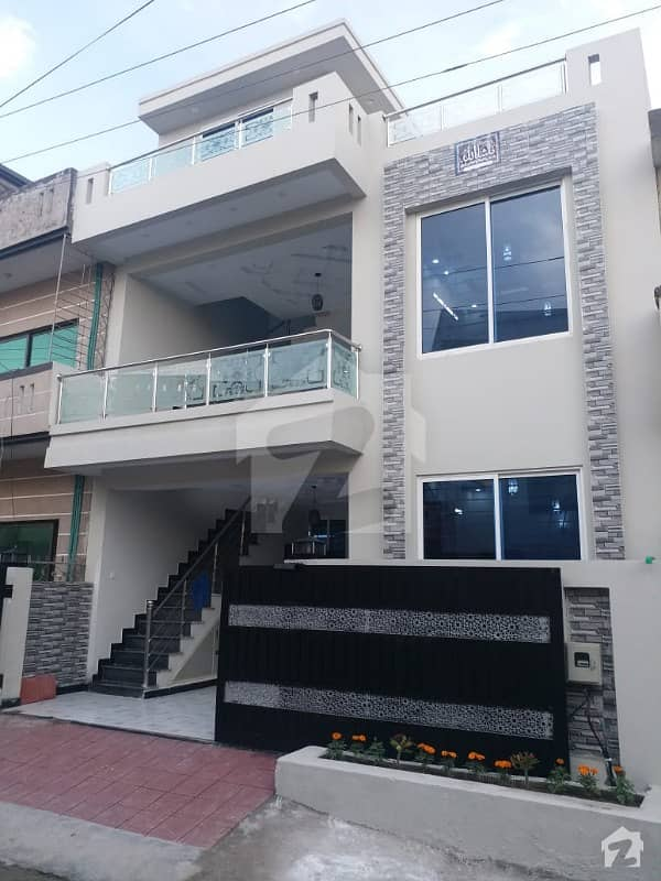 06 Marla Brand New Double Unit House Is Available For Sale In Pakistan Town