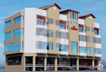 Dha Phase 1 Islamabad Sector  F Four Side Open Rb Heights Flat For Sale