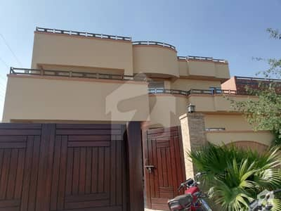 1 Kanal Corner Double Storey Bungalow For Rent In Gated Society