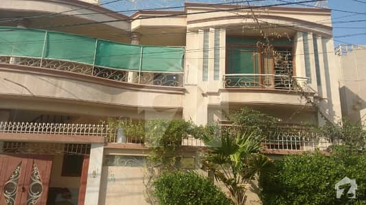 300 Sq. Yard Double Storey Bungalow Available For Sale In Gulshan Jamal On Rashid Minhas Road
