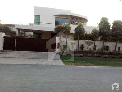 Real House Picture One Kanal Bungalow With Full Basement For Rent At DHA Phase 4