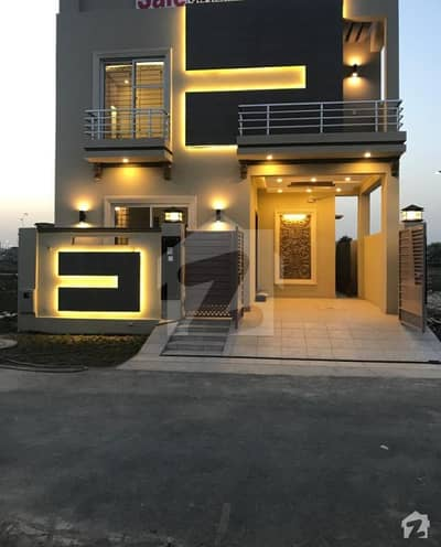 Estate Lines Offers 5 Marla Brand New Lavish Stylish Outclass Bungalow For Sale In Dha Phase 9 Town