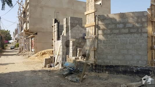 120 Sq Yards Under Construction House For Sale