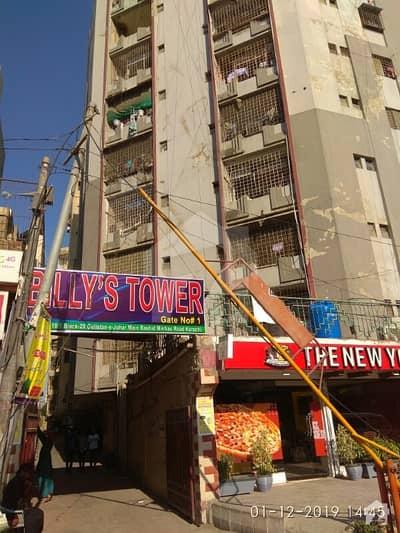 راشد منہاس روڈ کراچی میں 2 کمروں کا 4 مرلہ فلیٹ 49 لاکھ میں برائے فروخت۔
