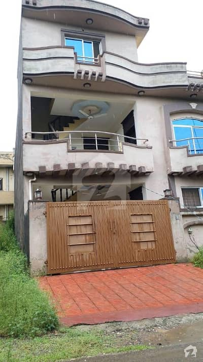 6 Marla Double Story House For Sale In Pakistan Town Phase 1 Near PWD CBR Soan Garden Bahria Town Islamabad