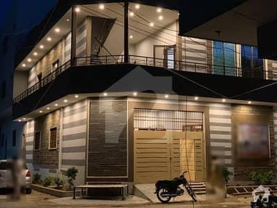 گلشنِ معمار - سیکٹر آر گلشنِ معمار گداپ ٹاؤن کراچی میں 4 کمروں کا 7 مرلہ مکان 1.7 کروڑ میں برائے فروخت۔