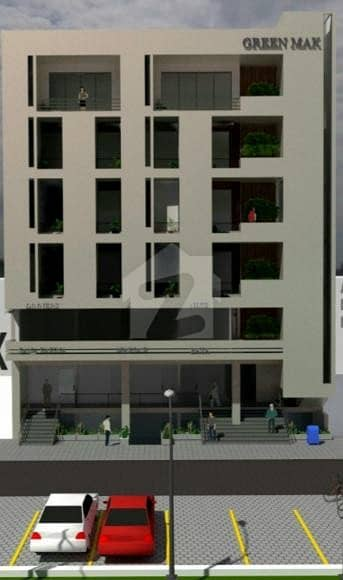 Office For Sale On Easy Installments Plan In Green Mall, Faisal Margalla City