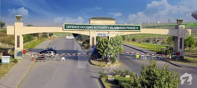 Corner Plot For Sale With Possession Sector F Dha Phase 5 Islamabad