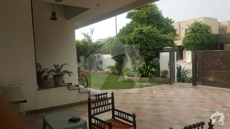 01 Kanal Used With Full Basement House Near Park Home At DHA Phase 5