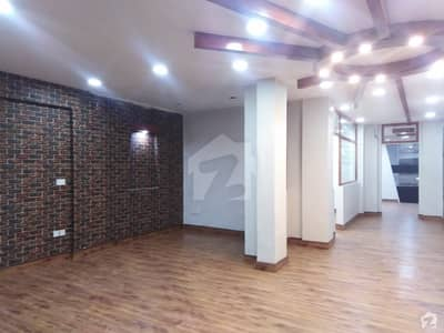 Front Entrance Glass Elevation Office Floor Available For Sale in Small Shahbaz Commercial Dha phase6